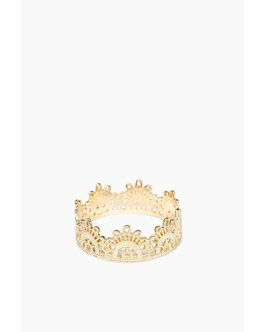 Grace Lee | Metallic Half Lace Ring | Lyst