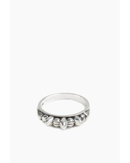 Pamela Love   Metallic Thin Spike Ring   Lyst