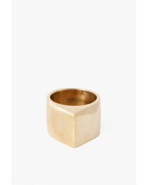 Soko   Natural Roof Top Ring   Lyst
