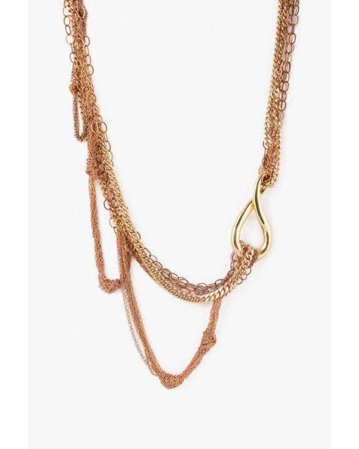 Nicole Romano - Metallic Rosedale Necklace - Lyst
