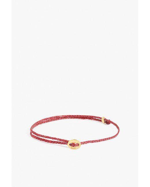 Scosha | Red Signature Slider Bracelet | Lyst