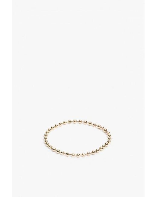 Catbird | Metallic Tiny Gold Chain Ring | Lyst