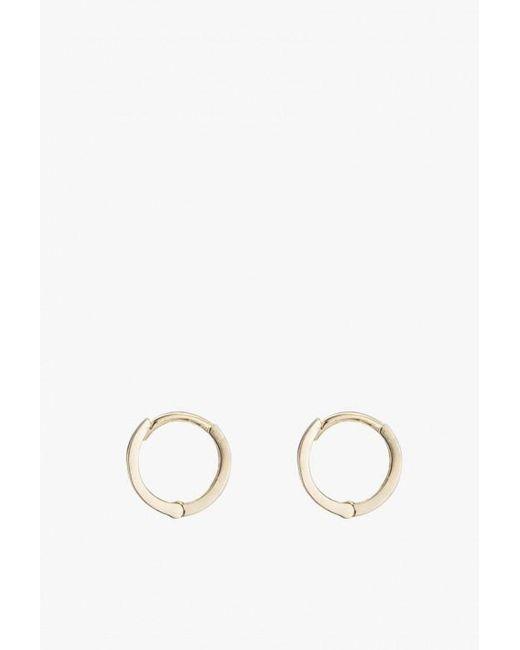 Ariel Gordon - Metallic Petit Hoop Earrings P - Lyst