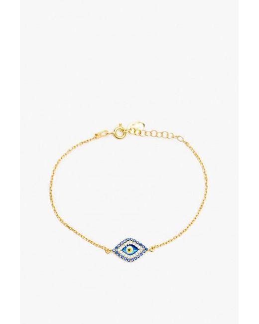 Azalea | Yellow Big Eye Bracelet | Lyst