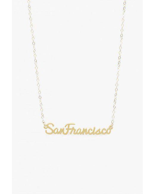 Seoul Little   Metallic San Francisco Necklace   Lyst