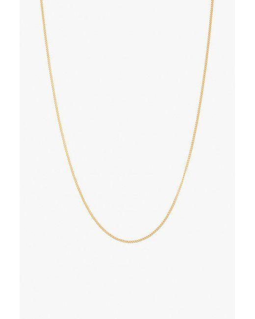 """Ariel Gordon - Metallic Baby Chain 17"""" Necklace - Lyst"""