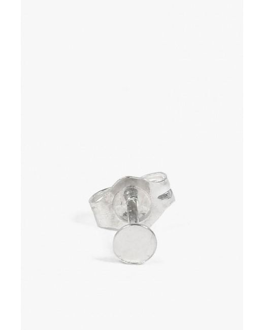 Kathleen Whitaker | Metallic Small Sequin Stud - Single | Lyst