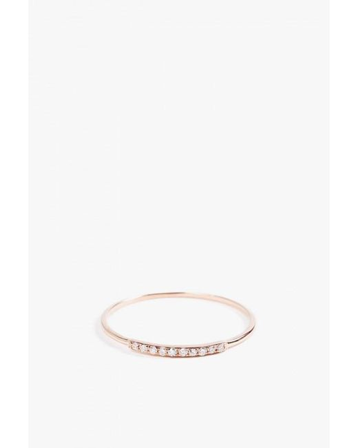 Gabriela Artigas | Metallic Mini Axis Ring | Lyst