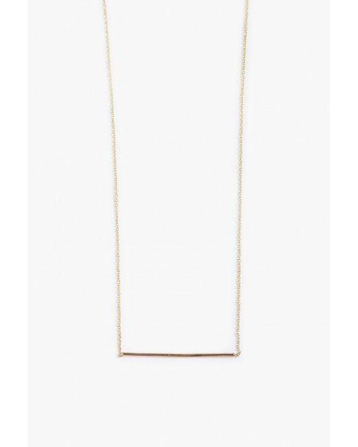 Gabriela Artigas | Metallic Line Necklace | Lyst
