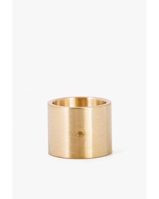 Marmol Radziner - Metallic Lightweight Solid Ring- Doublewide - Lyst
