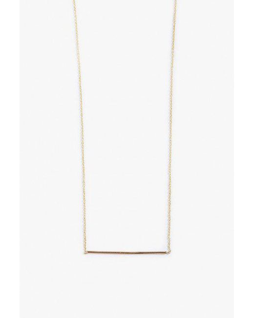 Gabriela Artigas | Metallic Line Necklace | Lyst