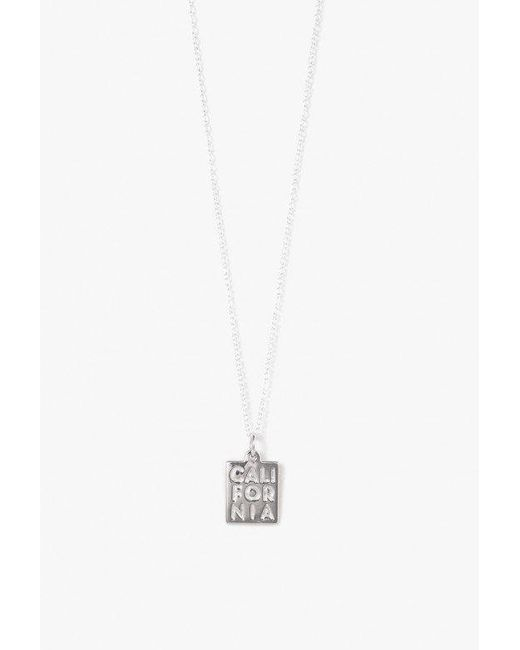 Honey and Bloom | Metallic Cali Pendant Necklace | Lyst