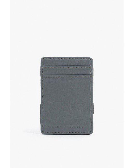 Status Anxiety - Gray Flip Wallet for Men - Lyst