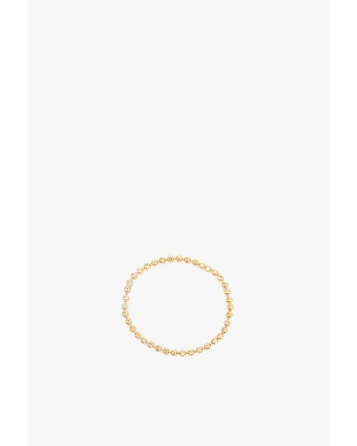 Gabriela Artigas - Metallic Soft Ball Chain Ring - Lyst