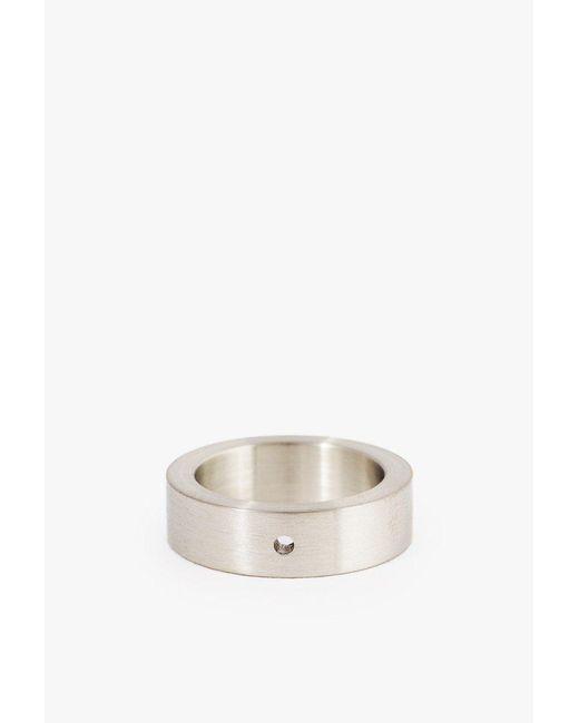 Marmol Radziner - White Heavyweight Solid Standard Ring - Size 7 - Lyst