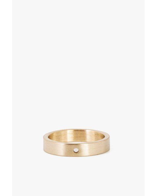 Marmol Radziner - Metallic Lightweight Solid Thin Ring - Size 5 - Lyst