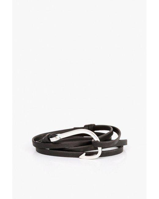 Miansai - Multicolor Hook On Leather Bracelet for Men - Lyst
