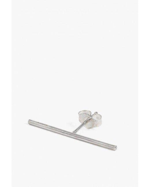 Kathleen Whitaker - Metallic Stick Stud - Single - Lyst