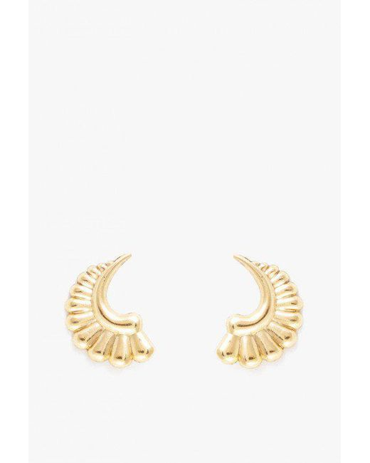 Nicole Romano | Metallic Willow Earrings | Lyst