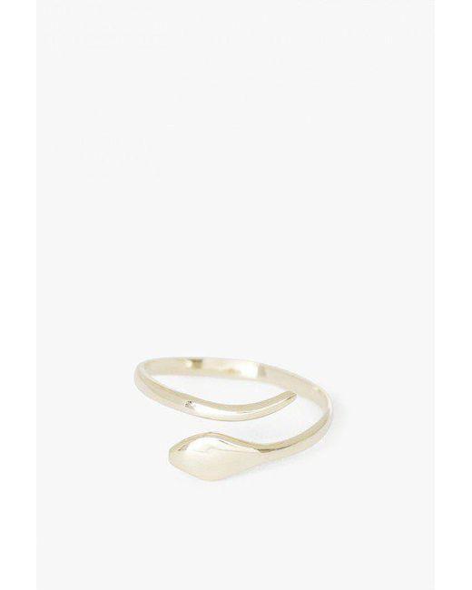 Ariel Gordon | Metallic 14k Snake Ring | Lyst