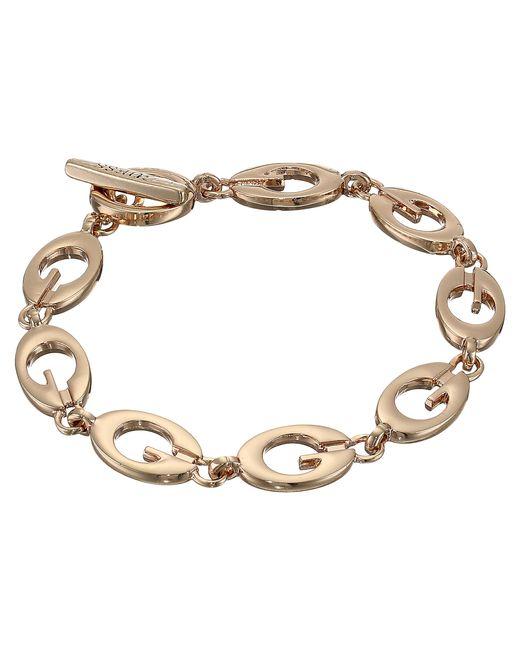 Guess | Metallic Link Bracelet Iii | Lyst