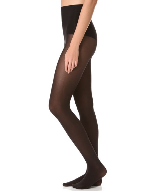 Spanx | Black Haute Contour Tights | Lyst