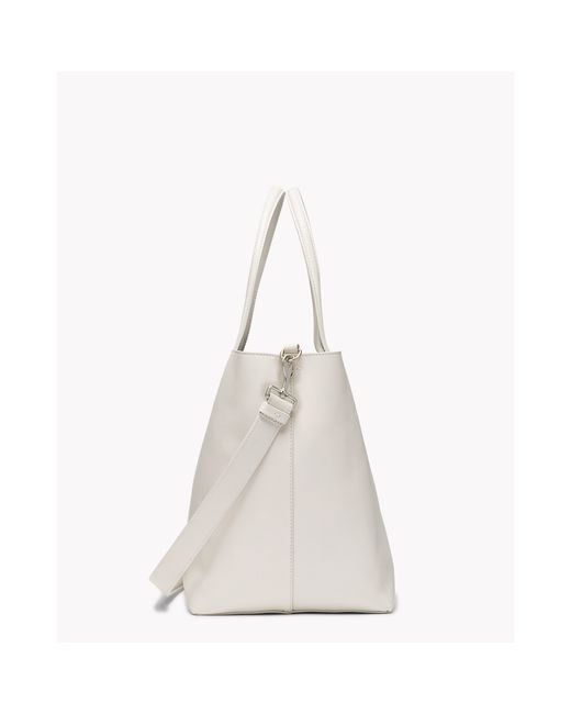 Theory | White Urban Tote In Linden | Lyst