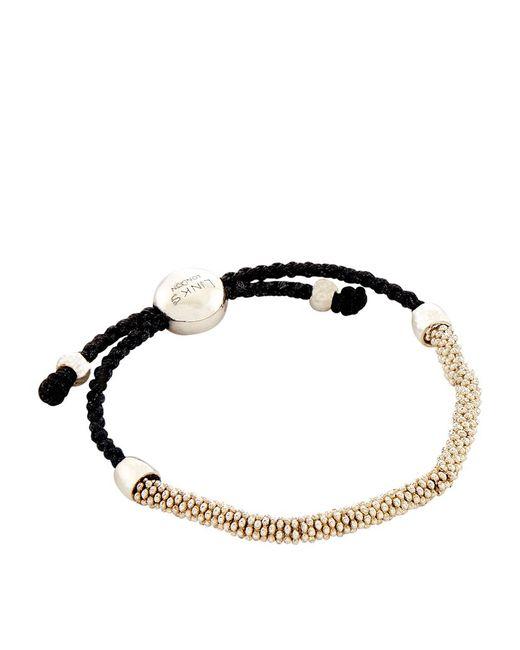 Links of London | Black Effervescence Xs Cord Bracelet | Lyst
