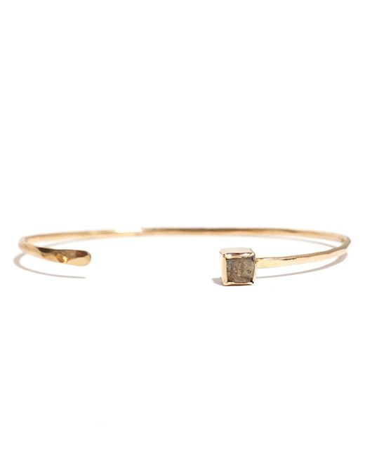Melissa Joy Manning | Metallic Raw Square Diamond Cuff | Lyst