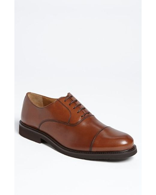 Florsheim | Brown 'gallo' Cap Toe Oxford for Men | Lyst