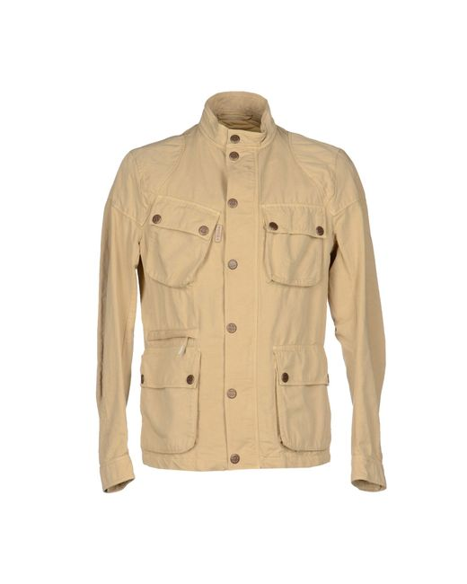 Brema | Natural Jacket for Men | Lyst