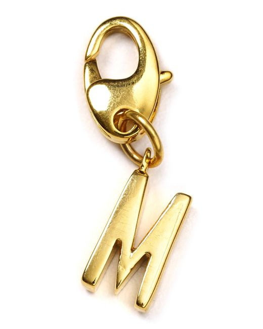 Kate Spade | Metallic Letter Charm | Lyst