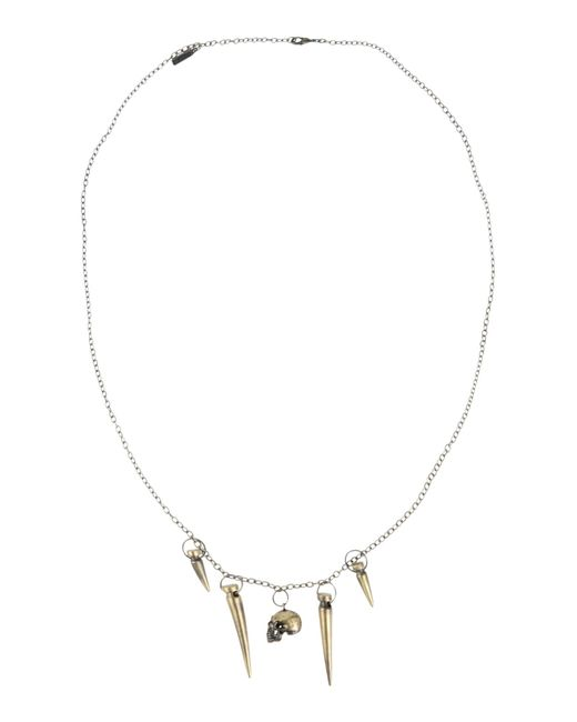 Obey | Metallic Necklace | Lyst