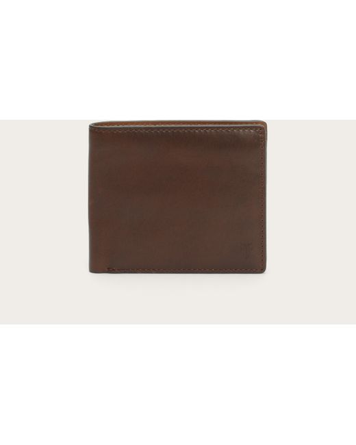 Frye | Brown David Double Billfold for Men | Lyst
