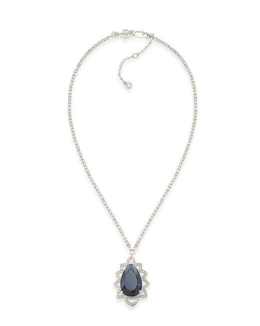 Carolee | Prospect Park Blue Teardrop Pendant Necklace | Lyst