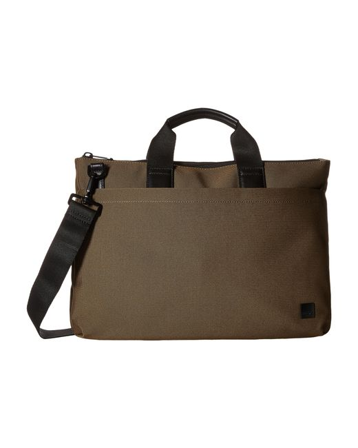 Knomo | Brown Oxberry Laptop Briefcase for Men | Lyst