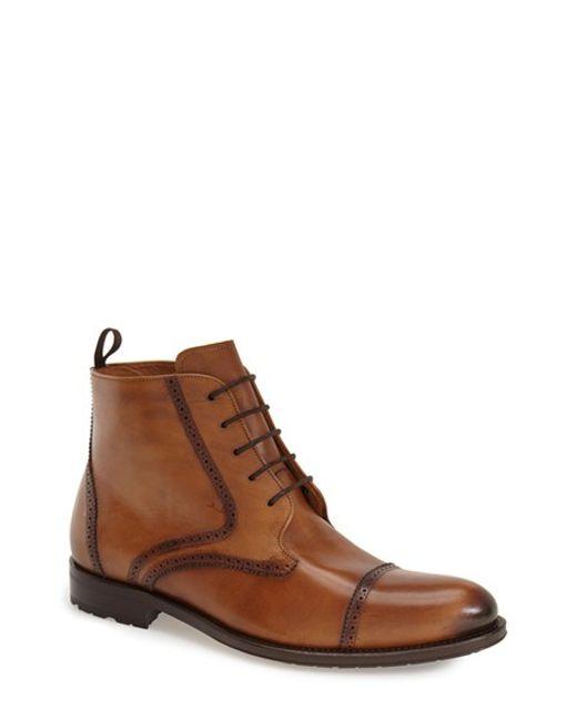 Mezlan | Brown 'breman' Boot for Men | Lyst