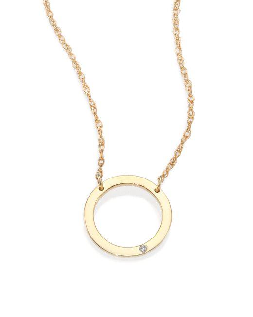 Jennifer Zeuner   Yellow Arrow Necklace   Lyst