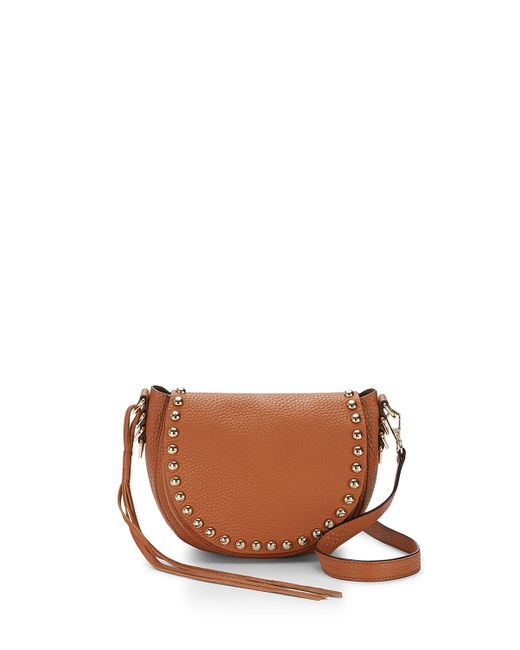Rebecca Minkoff | Brown Unlined Saddle Bag | Lyst