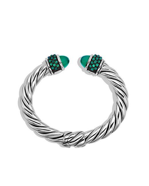 David Yurman | Osetra Bracelet With Green Onyx | Lyst