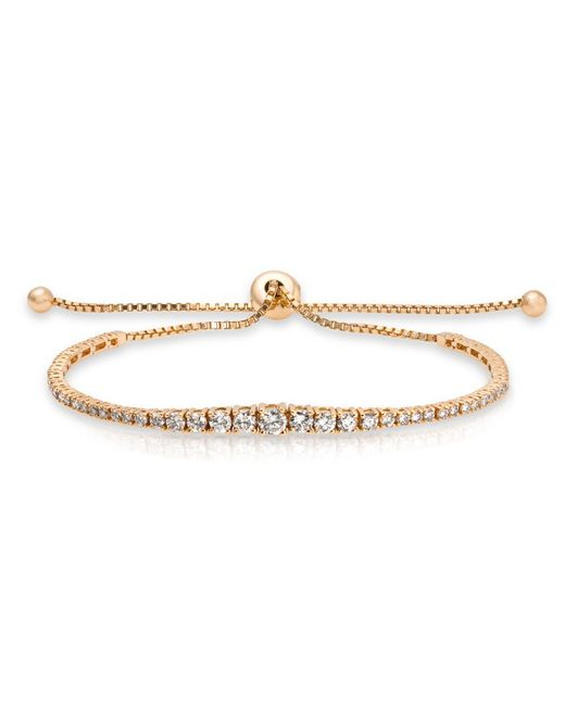 Anne Sisteron | Metallic 14kt Yellow Gold Diamond Tie Back Bracelet | Lyst