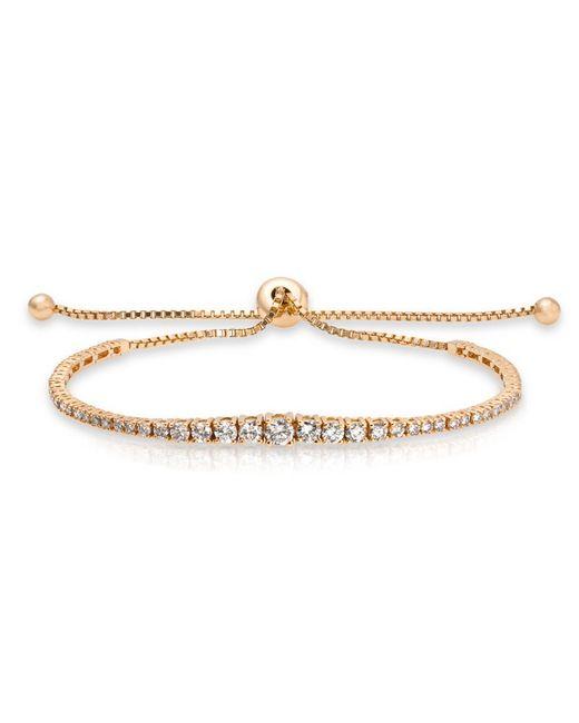 Anne Sisteron - Metallic 14kt Yellow Gold Diamond Tie Back Bracelet - Lyst