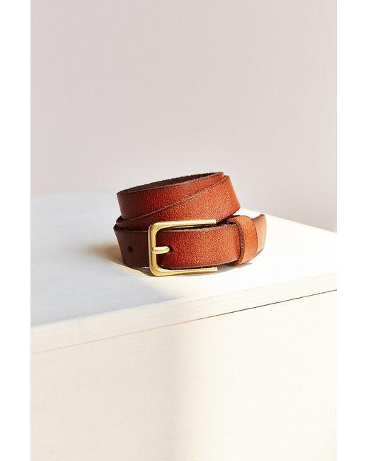 BDG | Brown Square Basic Belt | Lyst