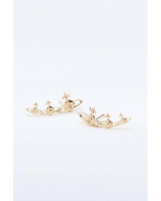 Vivienne Westwood | Metallic Candy Topaz Earrings | Lyst