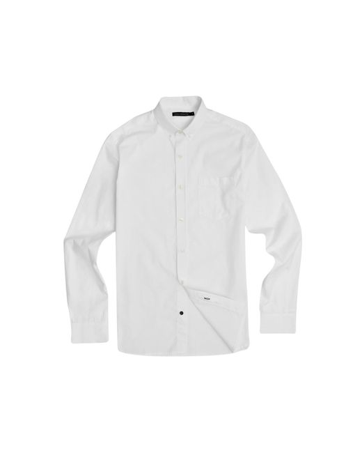 French Connection | White Colourful Oxford Shirt for Men | Lyst