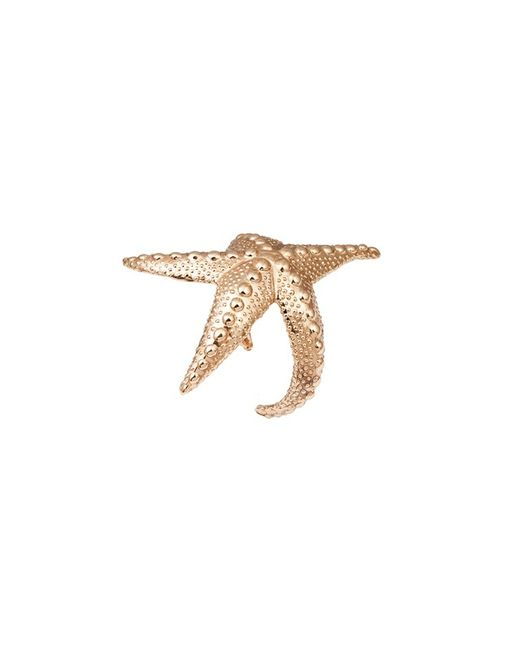 Bernard Delettrez | Metallic Sea Star Gold Cuff | Lyst