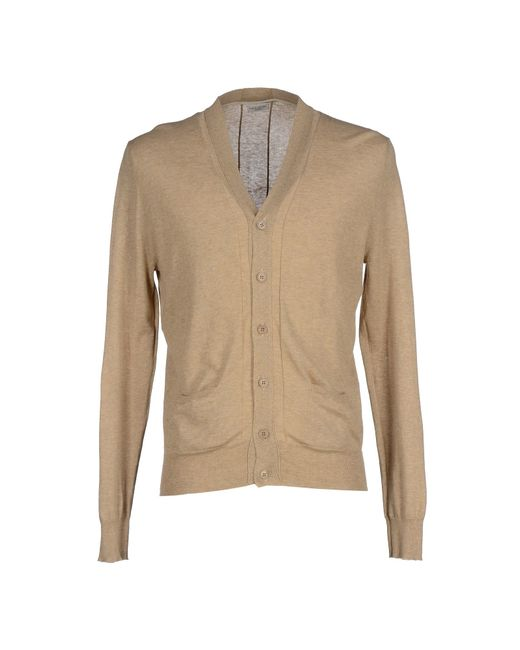 Paolo Pecora | Natural Cardigan for Men | Lyst