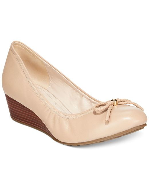Cole Haan | Natural Tali Grand Wedges | Lyst