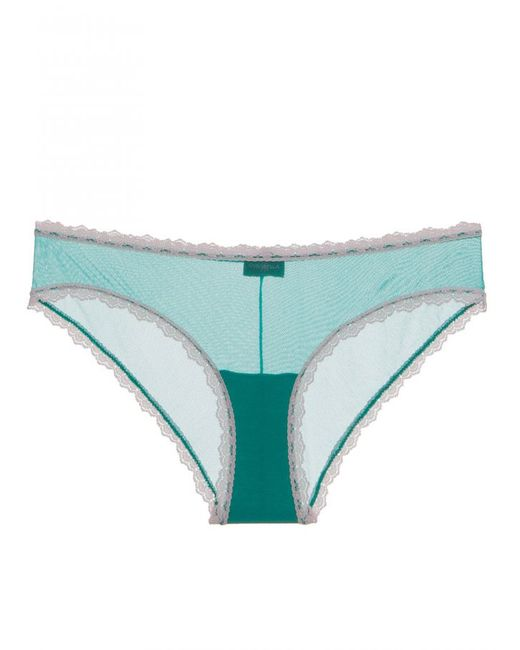 Cosabella | Green Celine Lowrider Hotpant | Lyst