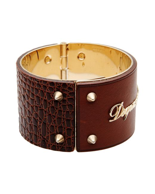 DSquared² | Brown Bracelet | Lyst